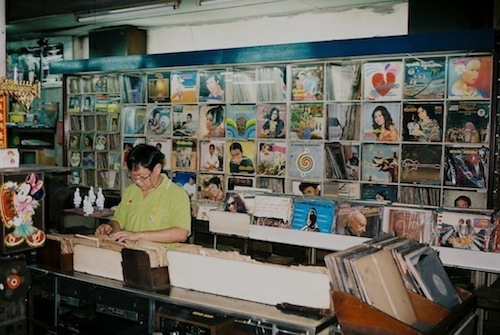 Broadway Record- digging for Molam